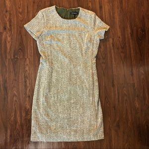 Banana Republic Tweed Short Sleeve Dress